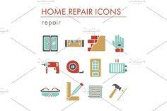 Window Design, Home Repair, Vector Design, Construction, Map, Building, Creative, Illustration, Location Map