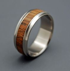 Mau loa Minter + Richter   Titanium Rings - Koa Wood Rings   Titanium Rings   Minter + Richter