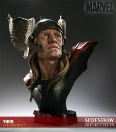 1aec2b82a13 Marvel Thor Life-Size Bust by Sideshow Collectibles