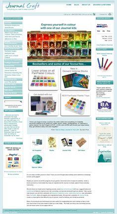 Journal Craft for all your Art Journaling supplies