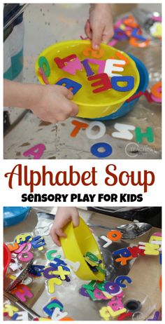 How to expose toddlers to the alphabet? This post gives some good ideas! Teaching 2 and 3 Year Olds