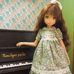 お嬢様なrurukoはピアノが趣味。 #ruruko
