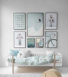 17 maneras de colgar los cuadros en tu casa