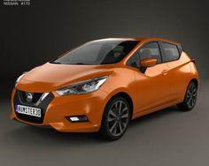3D model of Nissan Micra 2016