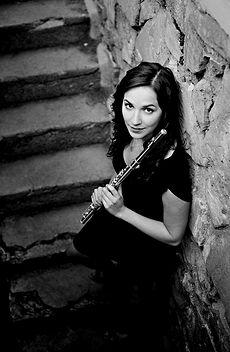 Gina Luciani   Flutist   Official Site   Photos