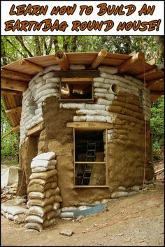 Could You Live in a Home Made From Earthbags?