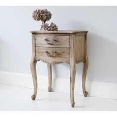 Chateauneuf Bedside Table - Rustic French Bedroom Table