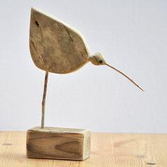 Driftwood wader bird 2 £27.50