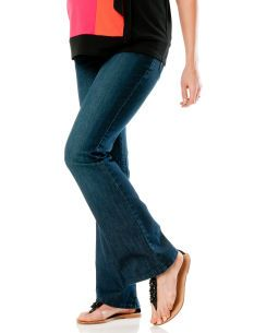 Motherhood Maternity Secret Fit Belly(r) Bling Pocket Boot Cut Maternity Jeans