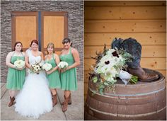country wedding dresses | California Country Winery Wedding - Rustic Wedding Chic