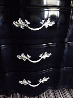black lacquer paint for furniture. This Dresser Painted With AH Lacquer Paint Has The Most Amazing Finish...It\u0027s Black For Furniture I