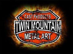 Twin Mountain Metal Art Custom Crafted Cast Products Railings, Juventus Logo, Metal Art, Team Logo, Twins, It Cast, Barn, Mountain, Logos