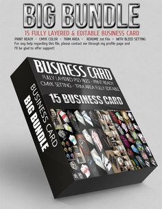 Check out Business Card Bundle by Calwin on Creative Market