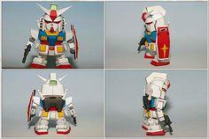 SD RX 782 Gundam Papercraft