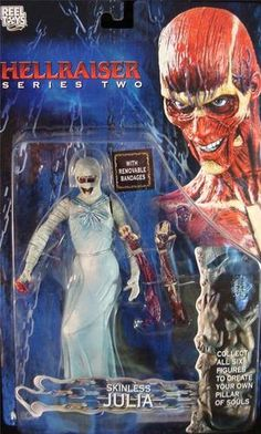 Hellraiser Skinless Julia Removable Bandages 2003 New | eBay