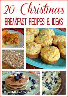 20 Christmas Breakfast Recipes & Ideas | FamilyBalanceSheet.org