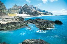 #Trindade Island - a volcanic island in the atlantic ocean - State of Espírito Santo Southeast Brazil