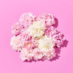 Gorgeous fluffy peonies in pinks and creams. Our personal favourite!