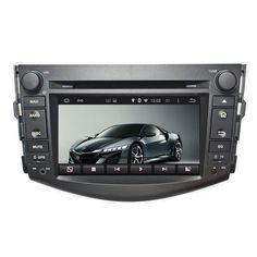 "7"" HD screen 2 Din DVD player android 5.1 1024*600 car video player for Toyota RAV4 2006-2012 with mirror link"
