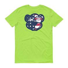 Leo Lion cub ameri can t-shirt