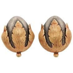 Buccellati Acorn Earrings | From a unique collection of antique and modern miscellaneous jewelry at https://www.1stdibs.com/furniture/more-furniture-collectibles/miscellaneous-jewelry/