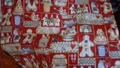 "Fabric Dianna Marcum Grandma's Gingerbread Cookies Cotton 2 Yds x 44"" Christmas #DiannaMarcum"