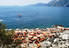 Gavitella Beach on the Amalfi Coast