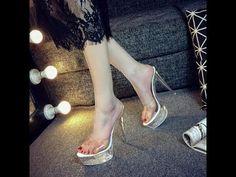 Super High Heels Super High Heels, Beautiful High Heels, Formal Shoes, Shoe Collection, Sandals, Casual, Fashion, Dress Shoes, Moda