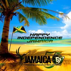 Happy Independence Jamaica! Today is #JamaicaDay as the island paradise celebrates its 55th year of independence. #Motto: 'Out of Many One People' #Anthem: 'Jamaica Land We Love' #JamaicaDay #JA55 #Jamaica #Independence #876 #JamRock