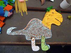un mix tra brontosauro e tirannosauro