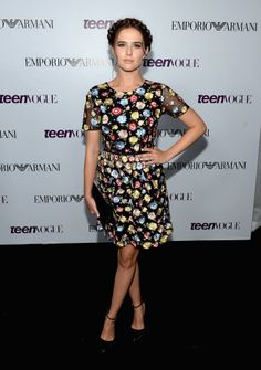 Zoey Deutch Teen Vogue Young Hollywood Party