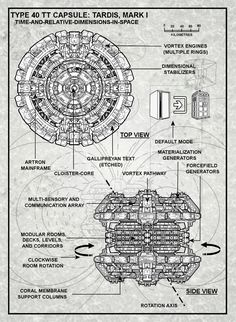 Long thread with lots of printable schematics and diagrams for the TARDIS.
