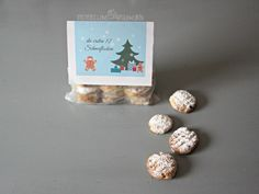 Schneeflocken Adventskalender - Geschenkidee für Erwachsene - mitbringsel -Schöner schenken - selbstgemacht - DIY