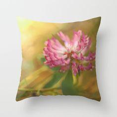 Clover Flower in Romantic Mood  https://society6.com/product/clover-flower-in-romantic-mood_pillow#25=193&18=126