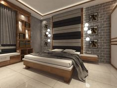 Find home projects from professionals for ideas & inspiration. Flat Interior Residency Rajarhat Kolkata by Creazione Interiors Sofa Bed Design, Bedroom Bed Design, Bedroom Furniture Design, Bedroom Decor, Bedroom Designs, Apartment Balcony Decorating, Apartment Interior, Modern Room Decor, Modern Bedroom