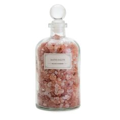 Mediterranean Sea Salt, Dead Sea Salt, and Epsom Salt will help ease your mind and relax your body.