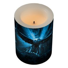 #Night Eagle Flameless Candle - #candle #candles #special #custom