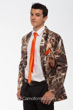 Camo Tuxedo Blazer Or Dinner Jacket