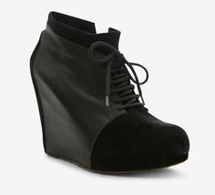 Yigal Azrouel Black And Silver Booties