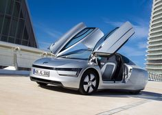 "Volkswagen claims XL1 is ""the most efficient production car in the world"""