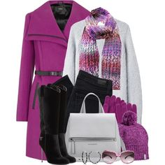 To complete: purple trench <3