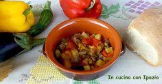 Ciambotto salentino: un piatto estivo, salutare, appetitoso, ricco e stuzzicante!