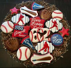 Baseball Platter by SweetCookieChic