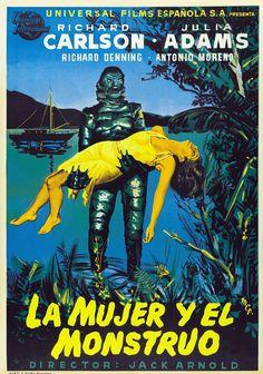 1954 - La mujer y el monstruo - Creature from the Black Lagoon