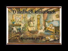 O siedmich kozliatkach - audio rozprávka pre deti Antique Furniture, Modern Furniture, Fashion Art, Vintage Fashion, Late 20th Century, Lidl, Fairy Tales, Antiques, Gallery