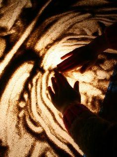 Totally!!!!  DIY sand art lightbox