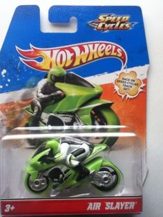 HOT WHEELS SPEED CYCLES -AIR SLAYER  MINT ON CARD COPYRIGHT 2011 #MATTEL