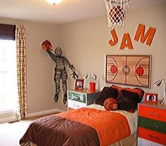 Captivating Basketball Room Kids Bedroom, Bedroom Themes, Bedroom Decor, Bedroom Ideas,  Master Bedroom