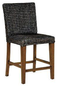 Ty Pennington Seagrass Bar Stool by Howard Miller - at the CellarsOfWine.com Made in USA - Repin, Like & Share - Thanks! Seagrass Bar Stools, Wine Furniture, Howard Miller, House, Home Decor, Decoration Home, Home, Room Decor, Home Interior Design