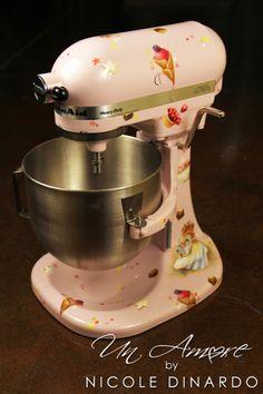 Vera The Mouse KitchenAid Mixer {Custom}